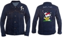 Peanuts Collection-Men's Snoopy Graphic Trucker Jacket