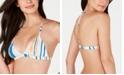 Roxy Juniors' Printed Triangle Bikini Top