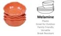 Certified International Perlette Coral Melamine 4-Pc. All Purpose Bowl Set