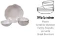 Certified International Perlette Cream Melamine 5-Pc. Salad/Serving Set