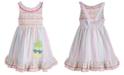 Good Lad Toddler Girls Smocked Seersucker Dress