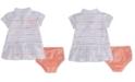 Nike Baby Girls Striped Polo Dress