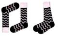 Love Sock Company Men's Dress Socks - Zig Zag