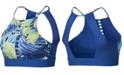 Nike Hyper Femme Printed Lattice Open-Back Low-Impact Sports Bra