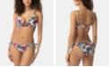 SUNDAZED Bow Bikini Top & Ruffled Bottoms, Created for Macy's