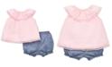 Little Me Baby Girls 2-Pc. Cotton Tunic & Shorts Set