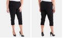 NY Collection Plus Size Pull-On Capri Pants