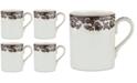 Spode Delamere Mugs, Set of 4