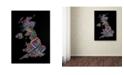 "Trademark Global Michael Tompsett 'United Kingdom VII' Canvas Art - 32"" x 22"""