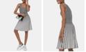 Michael Kors Grid-Print Sleeveless Dress