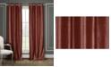 """Duck River Textile Daenerys 38"""" x 96"""" Faux Silk Blackout Curtain Set"""
