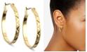 Anne Klein Gold-Tone Small Hoop Earrings