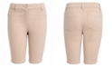 Nautica Little Girls Sateen Bermuda Shorts