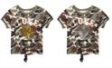 Beautees Big Girls Camo-Print Flip Sequin Top