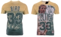 Mitchell & Ness Men's Larry Bird Boston Celtics City Pride Name And Number T-Shirt