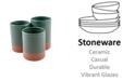 Thirstystone CLOSEOUT! La Dolce Vita Ceramic 3-Section Flatware Caddy
