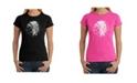 LA Pop Art Women's Word Art T-Shirt
