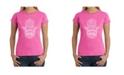 LA Pop Art Women's Word Art T-Shirt - Hamsa