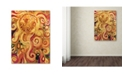 "Trademark Global Natasha Wescoat '150' Canvas Art - 14"" x 19"""