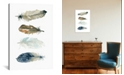 """iCanvas Feather Collection I by Carol Robinson Gallery-Wrapped Canvas Print - 26"""" x 18"""" x 0.75"""""""