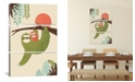 """iCanvas Mama Sloth by Jay Fleck Gallery-Wrapped Canvas Print - 60"""" x 40"""" x 1.5"""""""