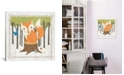 """iCanvas Fox by Moira Hershey Gallery-Wrapped Canvas Print - 18"""" x 18"""" x 0.75"""""""