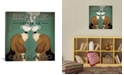 """iCanvas Beagle Coffee Co. by Ryan Fowler Gallery-Wrapped Canvas Print - 26"""" x 26"""" x 0.75"""""""