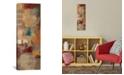 "iCanvas Oriental Trip Panel Ii by Silvia Vassileva Gallery-Wrapped Canvas Print - 36"" x 12"" x 0.75"""