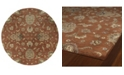 "Kaleen Mystic Europa-60 Copper 7'9"" Round"