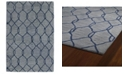 Kaleen Casablanca CAS02-17 Blue 5' x 8' Area Rug