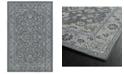 "Kaleen Relic RLC09-75 Gray 5'6"" x 8'6"" Area Rug"