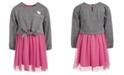 Hello Kitty Toddler Girls Tie-Waist Mesh Dress