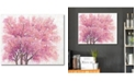 """Courtside Market Blossom Tree I 16"""" x 20"""" Gallery-Wrapped Canvas Wall Art"""