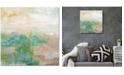 "Courtside Market Sea Foam I 16"" x 16"" Gallery-Wrapped Canvas Wall Art"