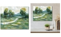 """Courtside Market Summer Light 16"""" x 20"""" Gallery-Wrapped Canvas Wall Art"""