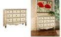 Furniture Shirley Mirrored Accent Chest