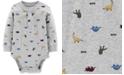 Carter's Baby Boys Dinosaur-Print Cotton Bodysuit