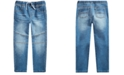 Epic Threads Little Boys Stretch Drawstring Moto Jeans, Created for Macy's