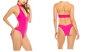 Kendall + Kylie Turtle Neck 1 Piece Swimsuit