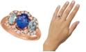 Le Vian Multi-Gemstone (1-3/4 ct. t.w.) & Nude Diamond (1/2 ct. t.w.) Ring in 14k Rose Gold