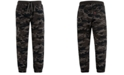 Levi's Little Boys Slim Tapered-Fit Stretch Camouflage Twill Moto Joggers