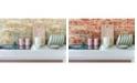 York Wallcoverings Stuccoed Brick Peel And Stick Wallpaper