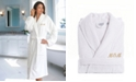 """Linum Home Terry Bathrobe Embroidered with """"Mom"""""""