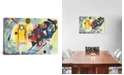 """iCanvas Gelb - Rot - Blau Yellow-Red-Blue, 1925 by Wassily Kandinsky Wrapped Canvas Print - 18"""" x 26"""""""