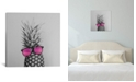 """iCanvas Mrs. Pineapple by Chelsea Victoria Wrapped Canvas Print - 18"""" x 18"""""""