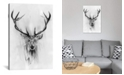 """iCanvas Red Deer by Alexis Marcou Wrapped Canvas Print - 40"""" x 26"""""""