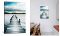 "iCanvas Jetty by Danita Delimont Wrapped Canvas Print - 26"" x 18"""