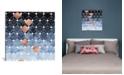 "iCanvas Copper Diamonds by Elisabeth Fredriksson Wrapped Canvas Print - 37"" x 37"""