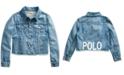 Polo Ralph Lauren Big Girls Denim Polo Jacket