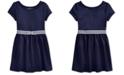 Polo Ralph Lauren Little Girls Ponte Roma Bow Dress
